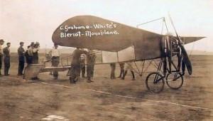 The Bleriot XI monoplane