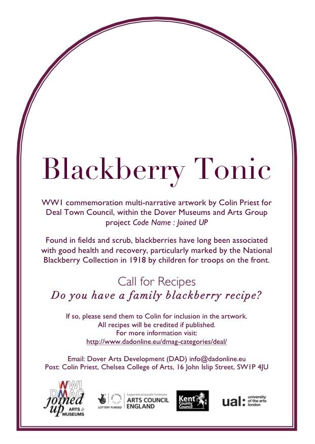 Blackberry Tonic Call_Colin Priest