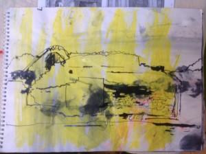 Drawing made in the workshop. John Dargan